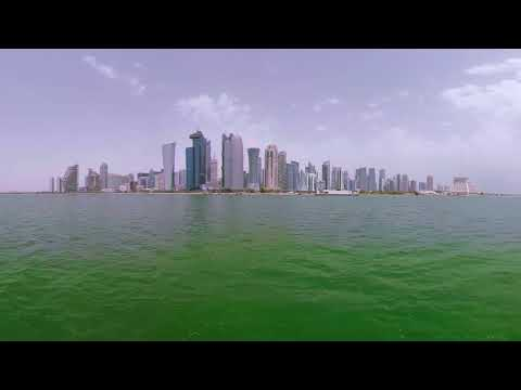 (4K) Qatar in 360 : One of the World's Fastest Growing Economies - Doha Pano