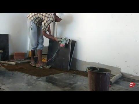 installing-granite-flooring-in- India