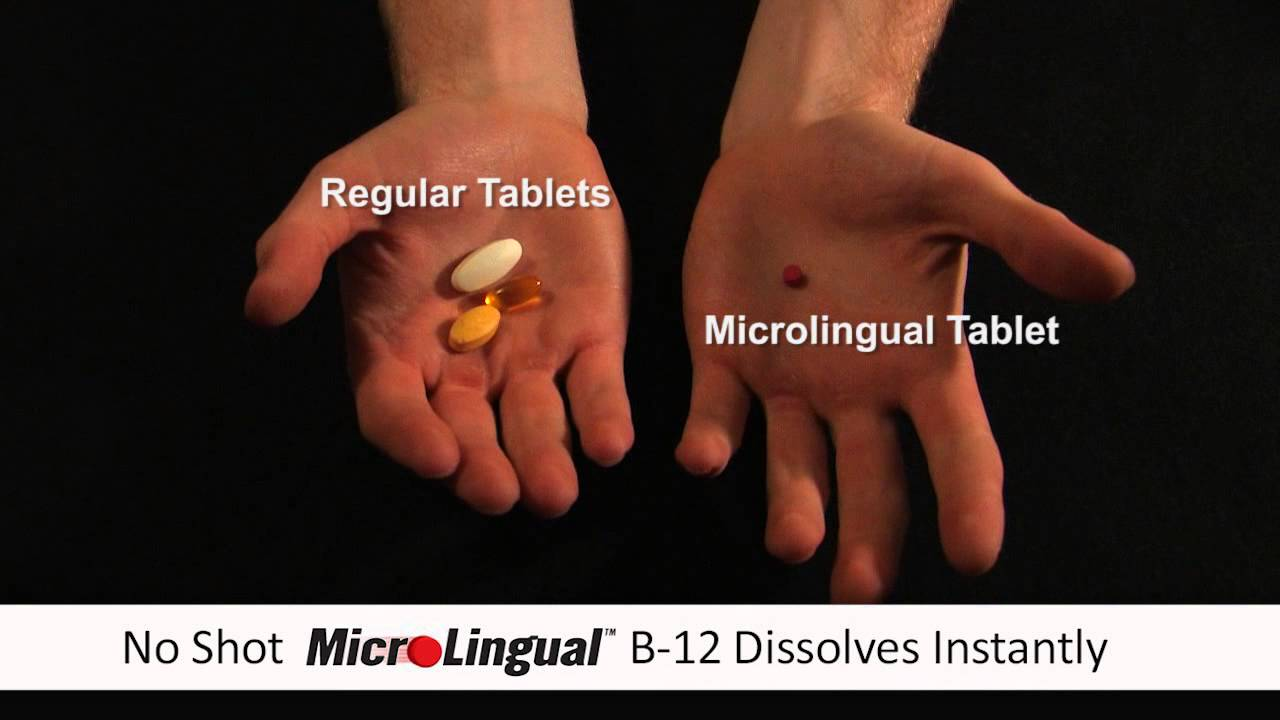 Superior Source MicroLingual Vitamins - B12 Commercial # 1