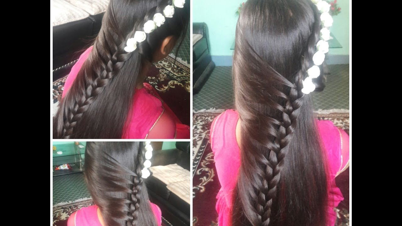 Cute Baby Hairstyle Young Girls Hairstyle For Medium Hair Youtube