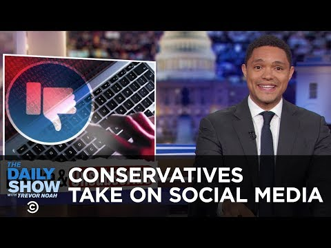 Are Social Media Companies Really Silencing Conservatives? | The Daily Show thumbnail