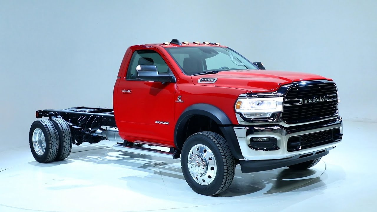 Dodge Ram 5500 >> 2019 Ram 5500 Chassis Cab Overview Youtube