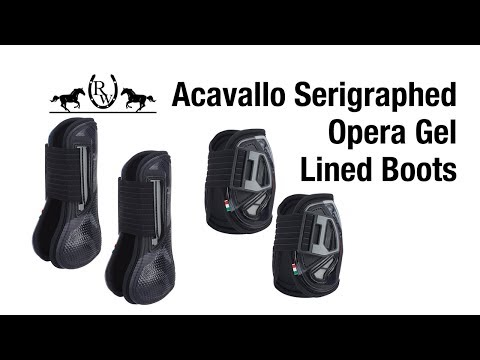 Acavallo Serigraphed Opera Boots