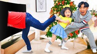 BORAM QUE JOGA NO CAMPO DE JOGOS COM AMIGOS ♥ Boram went Playground Fun For Kids