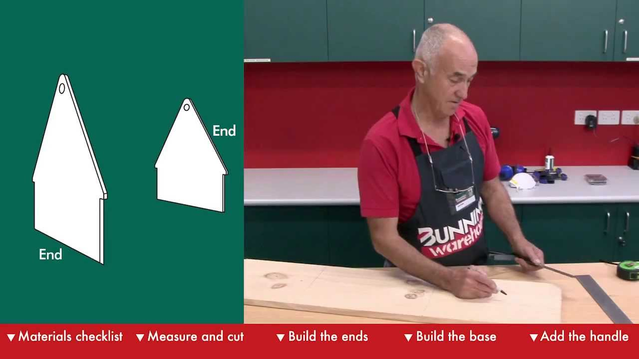 How To Make A Tool Box - DIY At Bunnings