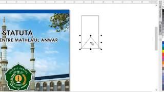Tutorial Cara Mudah Membuat Cover Buku Dengan Corel X7 Tutorial