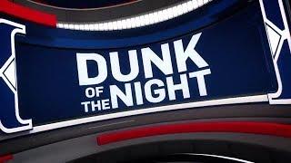 NBA Dunk of the Night  Giannis Antetokounmpo  April 26,  2018
