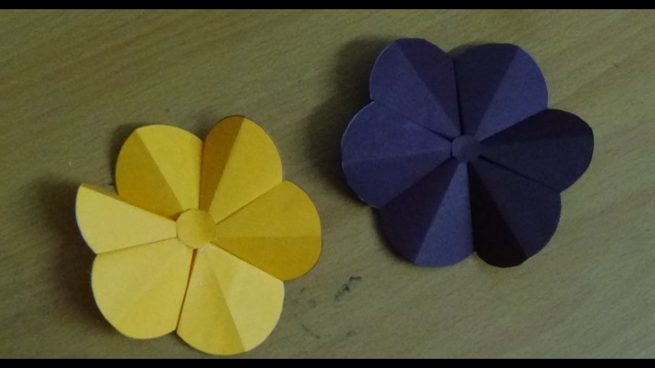 Easy crafts for beginners how to make origami flower simple easy crafts for beginners how to make origami flower simple folding instructions mightylinksfo