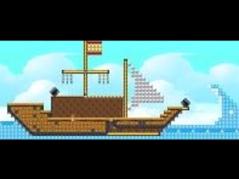 Atlantis II (easy) by Lorena - SUPER MARIO MAKER - NO COMMENTARY