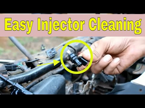 motorcycle fuel injector cleaning