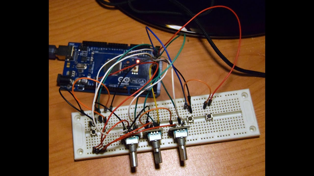 Arduino, vJoy i FSX