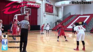 Owens vs Roane State, WBKB, Full Game, Jan. 5, 2015