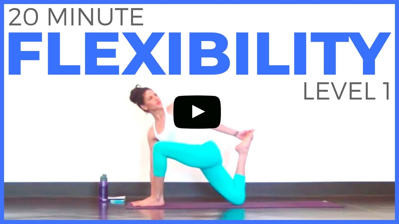 34 minute Yoga for Flexibility (Level 34) Full Body Yoga Stretch  Sarah  Beth Yoga