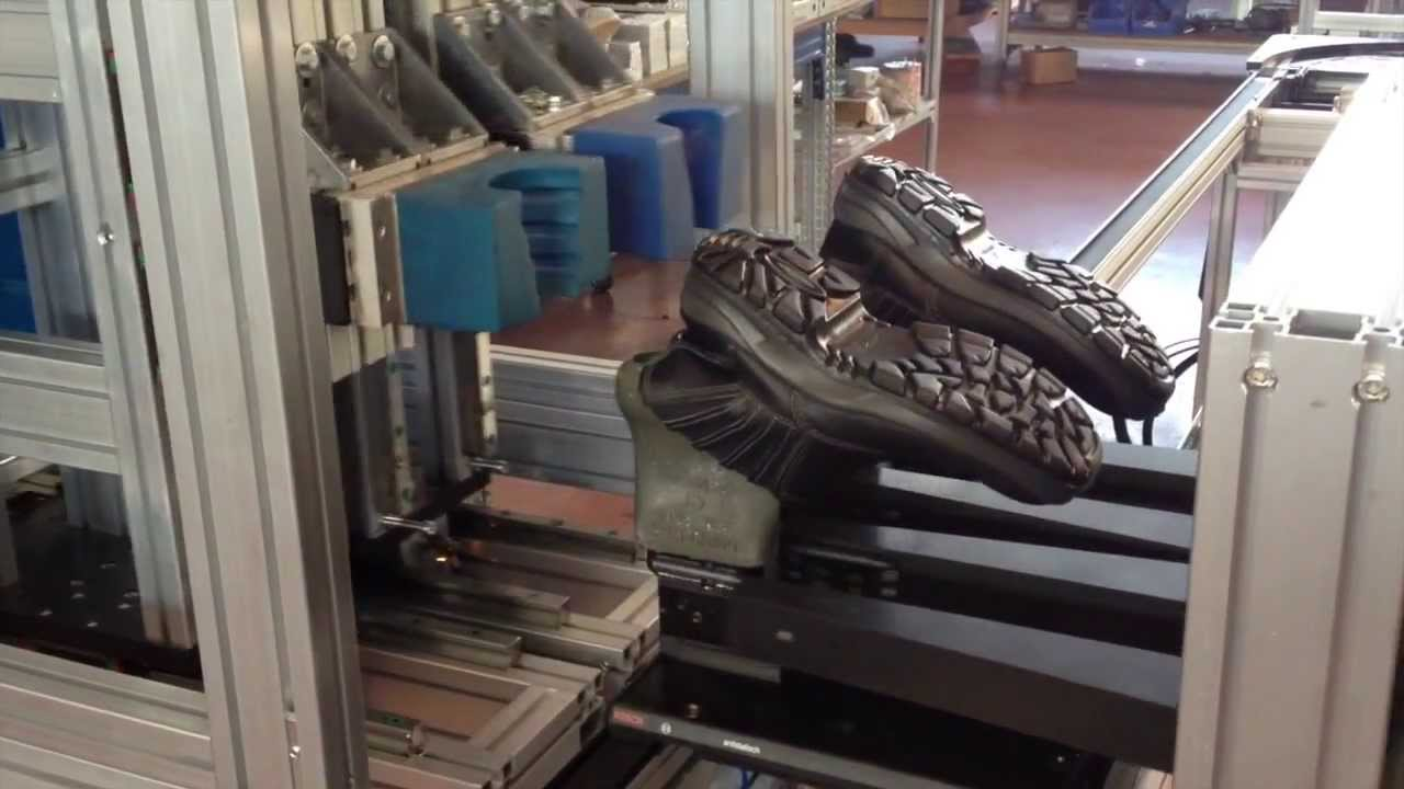 Safety Shoes Automated Production Line - YouTube