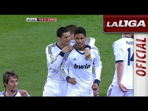 Gol de Varane (0-3) en el FC Barcelona - Real Madrid - HD