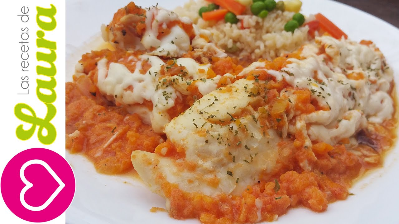 ... Crema de Pimiento - Tilapia Fillet in Red Bell Pepper Sauce - YouTube