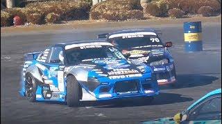 【TOKYO AUTO SALON 2018】D1 Kick Off Drift 2018/01/13