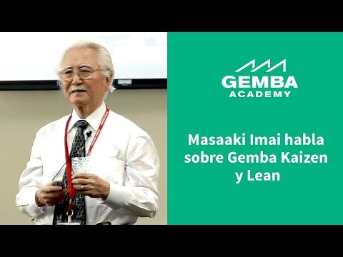 Masaaki Imai Habla Sobre Gemba Kaizen Y Lean