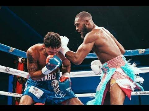 Jaron Ennis vs Armando Alvarez Full Fight Highlights TKO