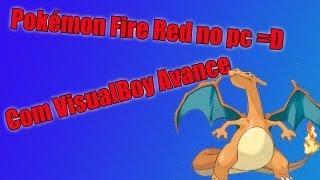 Como baixar e instalar Pokémon Fire Red no pc,com visual boy advance