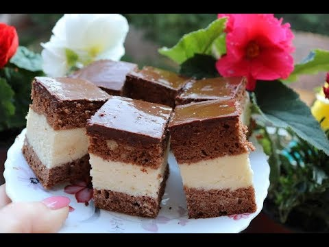 Bakina kuhinja - čokoladne griz kocke kao sladoled