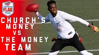 Flag Football Highlights Quarterfinals Game 4: Winner advances for potential shot at $1 Million!