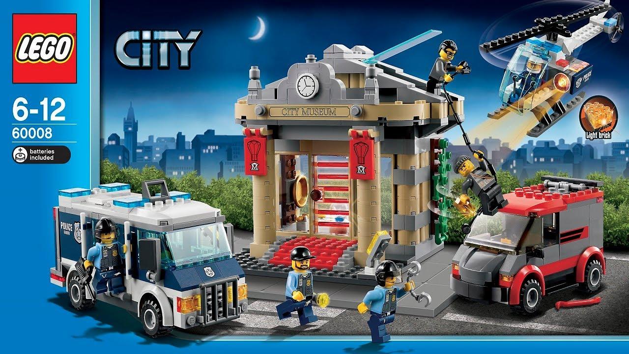 LEGO City Instructions For 60008 - Museum Break-in