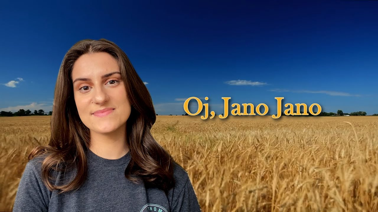 Macedonian Folk Song   Oj Jano, Jano   Tamburitzans