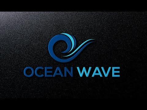 How to make OCEAN WAVE symbol in Illustrator. Bangla tutorial thumbnail