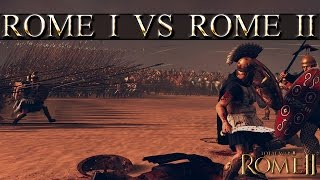 Pikes in Rome Total War vs Pikes in Total War Rome 2