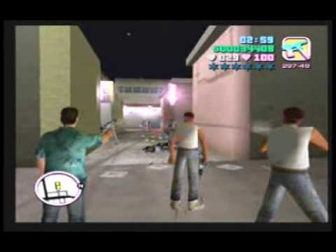 "GTA: Vice City: Mission #20 ""Cannon Fodder"""