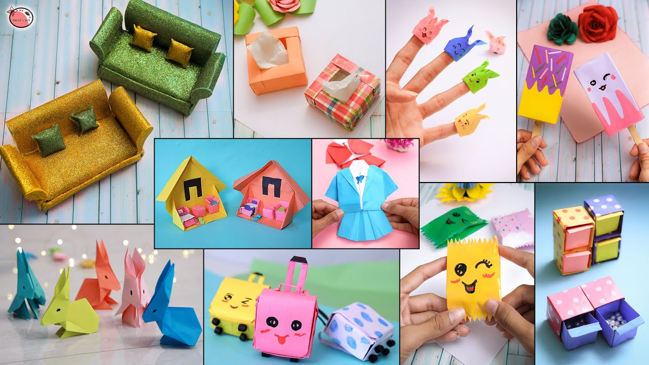 Mini! DIY Crafts For Teen Girls - Creative Handicraft DIY Projects