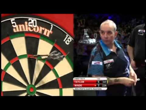2015 Perth Darts Masters Final Taylor vs Wade
