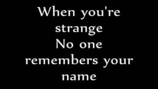 People Are Strange - The Doors *LYRICS*