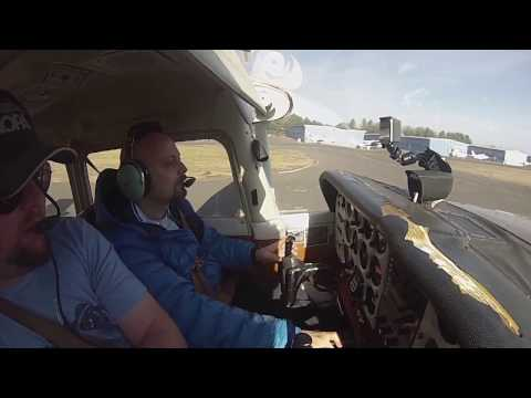 Flight Lesson 11 - Pre Solo Slow Flight, Steep Turns, Power On and Off Stalls, and Instrument