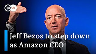 Amazon boss Jeff Bezos to step down as CEO