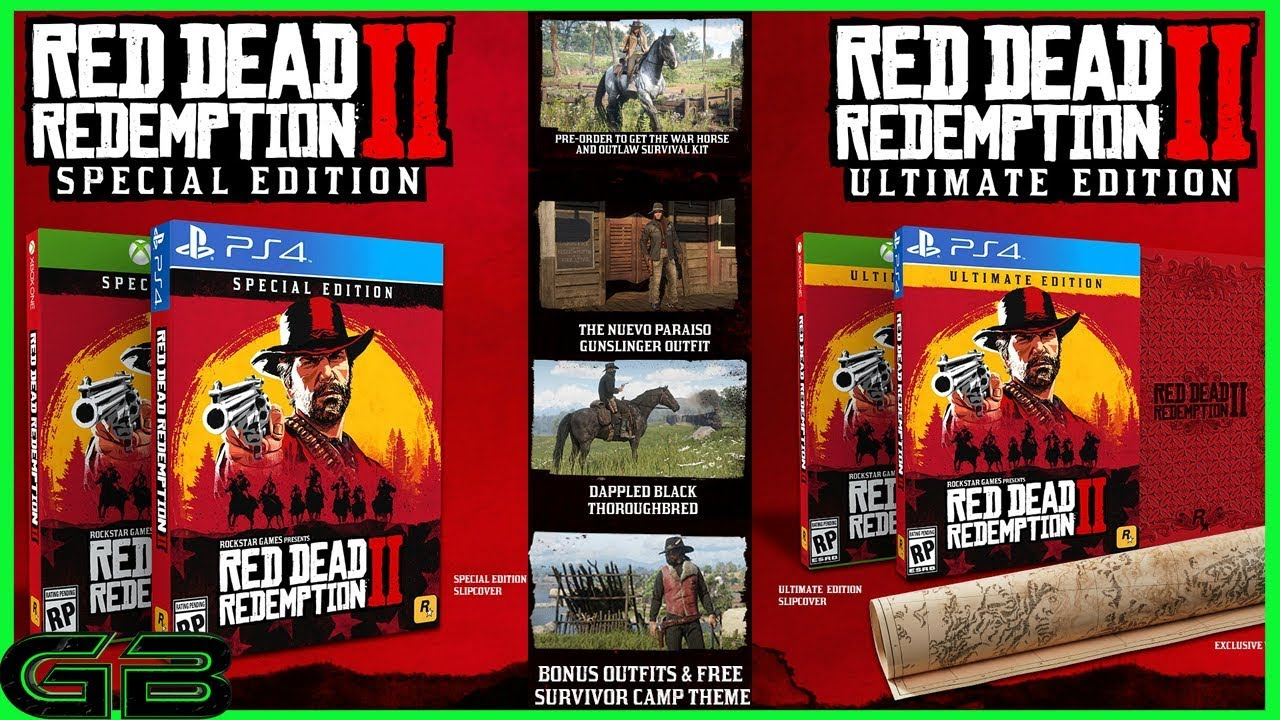 Red Dead Redemption 2 GameStop Collector's Box Includes A Map, A Tithing Box, and Lots More