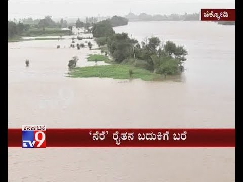 First Drought, Now Floods Damage Crops in Chikkodi After Maharashtra Releases Water to K''taka