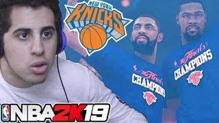 Durant And Kyrie Win Some Rings - NBA 2K19