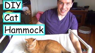 DIY Cat Hammock | No Sew |  EASY + CHEAP