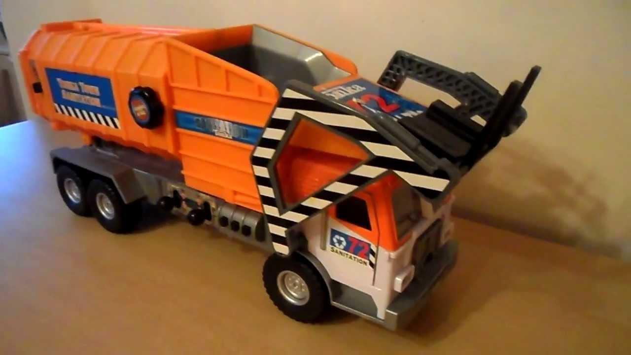 2002 Large Tonka Toy Amazing Recycle Truck Youtube