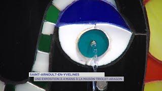 Yvelines | Saint-Arnoult-en-Yvelines : Une exposition à 4 mains à la maison Triolet-Aragon