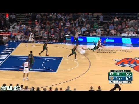 Boston Celtics Defensive Highlights vs New York Knicks (10/20/2018)