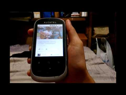 Youtube on Old Android Phone Alcatel 890D