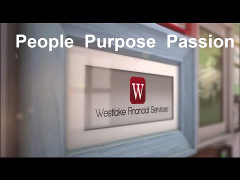 People Purpose Passion Westlake Financial Services
