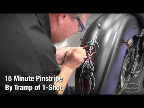 How To Pinstripe Like A Master with Pinstriping Pro Tramp Warner of 1-Shot Paint at Eastwood