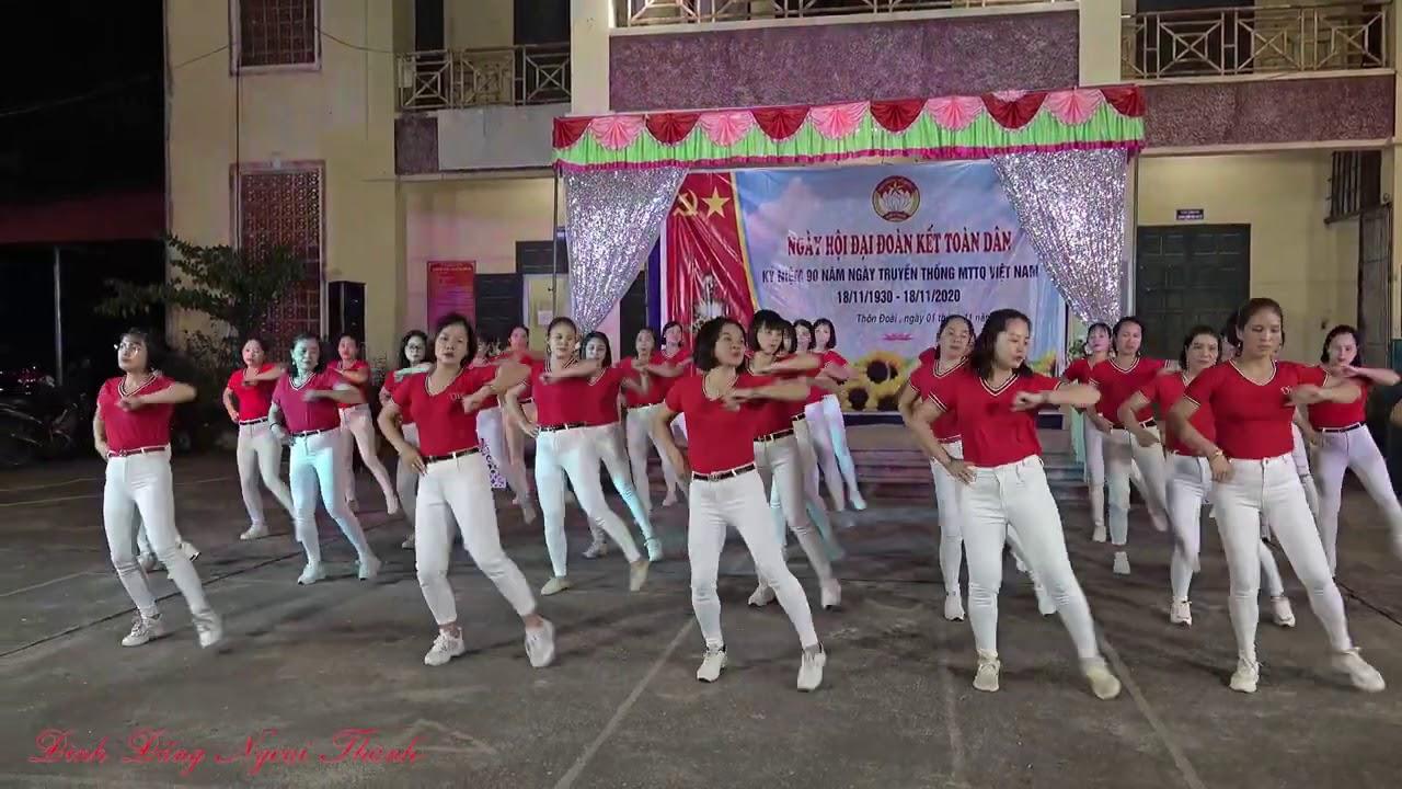 Chiếc gậy Trường Sơn – Khiêu vũ TT thôn Đoài xã Kim Nỗ – Nguyễn Sáu.