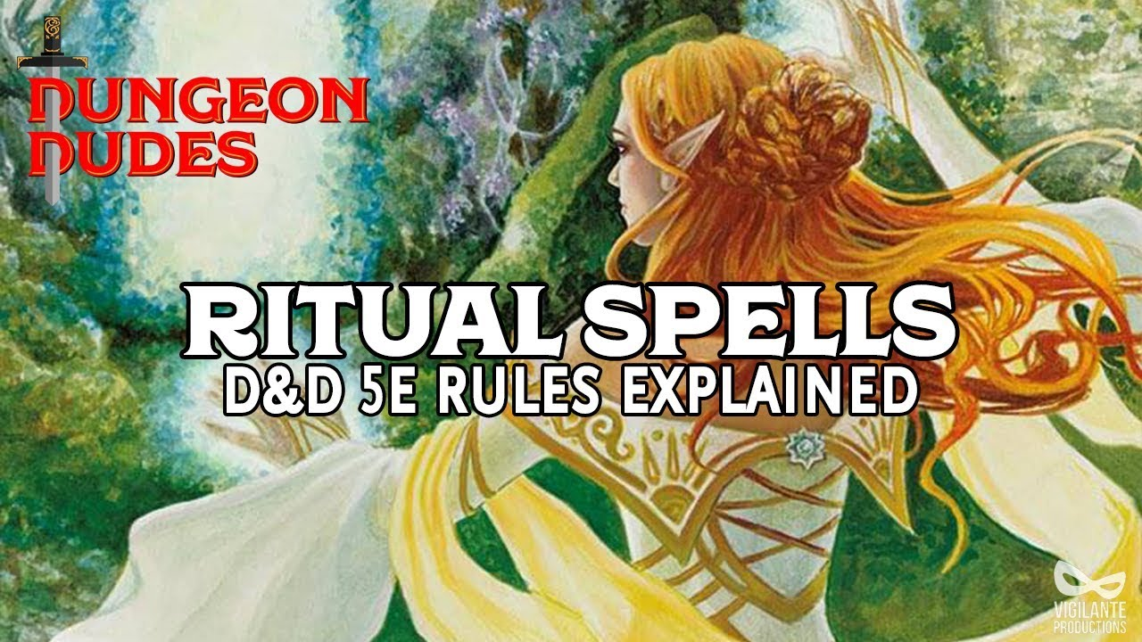 Ritual Spells Guide for Dungeons and Dragons 5e