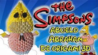 El Abulo de Origami 3d/Los Simpson/Origamileo