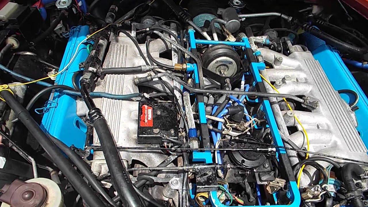 1988 jaguar 5 3 v 12 xjsc plugs wires and hoses 015 [ 1280 x 720 Pixel ]